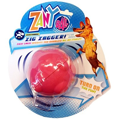 Zany Bunch Zany Ball - Wiggling, Jiggling, Electronic Dog Toy by R2P Group