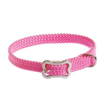 Coastal Pet Products, Inc. 8501 Sunburst Collar With Bone Buckle 10 Inch x 3/8 Inch - Pink by Coastal Pet