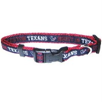 Pets First HTC-S Houston Texans NFL Dog Collar - Small