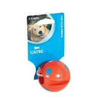 Caitec 60021 Chase and Chomp Rubber Fetch Ball