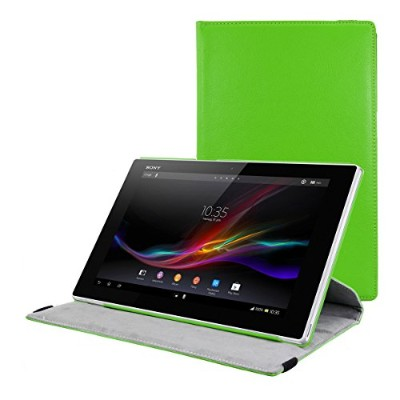 kwmobile Sony Xperia Tablet Z 用 ケース - 360度回転 タブレット 保護 カバー 全面 保護ケース