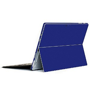 wraplus for Surface Pro / Pro 4 【ブルー】 スキンシール 側面 背面 カバー フィルム 保護 ケース