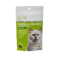 Tomlyn Natural Hairball Remedy Chews for Cats, (Laxatone) 60 Chews by Tom Lyn