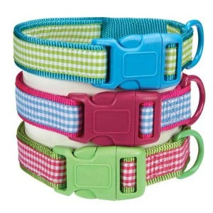East Side Collection ZA2110 14 16 Gingham Sweetie Collar, 14-20-Inch, Bluebird by East Side...