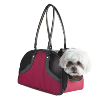 Petote Roxy Pet Carrier Bag, Red, Large by Petote