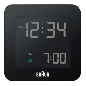 BRAUN(ブラウン) Digital Clock BNC009BK-RC BNC009BK-RC