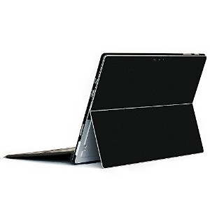 wraplus for Surface Pro / Pro 4 【ブラック】 スキンシール 側面 背面 カバー フィルム 保護 ケース