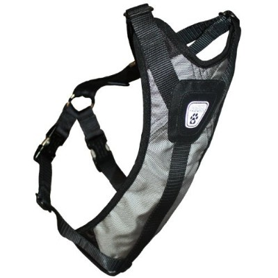 Canine Friendly Dog Safety Harness, Large, Steel Grey by Canine Friendly