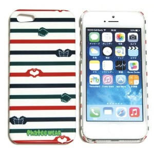 (ファッティー) Phatee I-PHONE SE/5/5S CASE ハード ケース カバー for iPhone SE/5/5s HAND BORDER