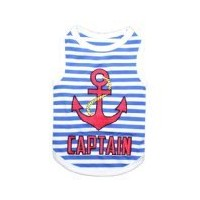 Parisian Pet Captain Dog T-Shirt, XX-Small by Parisian Pet
