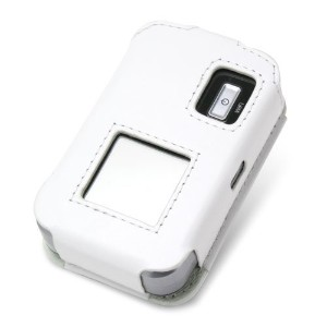 PDAIR レザーケース for Pocket WiFi LTE(GL06P) スリーブタイプ(ホワイト) PALCGL06PS/WH
