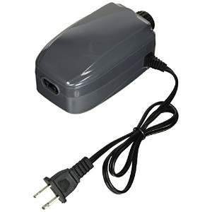 SunSun YT-302C 3W 3-LPM Aquarium Air Pump with 2 Outlets, 60 gallon by Sun Microsystems