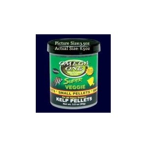 Omega One Super Veggie Pellets Small 6.5oz by Omega One
