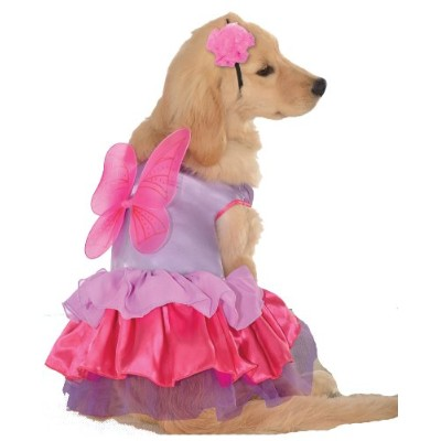 Rubie's Pet Costume, X-Small, Pink and Purple Fairy