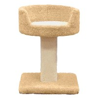Classy Kitty 23 Pedestal with Bed 16.8x22.2x16.5 by North American Pet