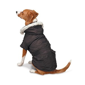 East Side Collection 3-in-1 Eskimo Jacket for Dogs, 14 Small/Medium, Brown by East Side Collection