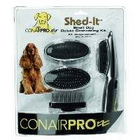 ConairPRO Shed-It Deluxe Professional Grooming Kit for Small Dogs, 1.75-Inch by Conair