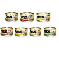 Fussie Cat Premium 7 Flavor Variety Pack - 14/2.8oz Cans by Fussie Cat