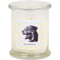 Aroma Paws Breed Candle Jar, 12-Ounce, Rottweiler by Aroma Paws