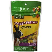 Wild Harvest Veggie Puffers for Small Animals, 3-Ounce (P-84142) by Wild Harvest