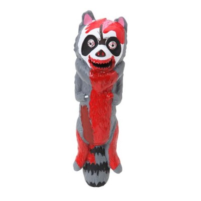Dogit Vinyl Dog Toy, Zombie Raccoon by Dogit