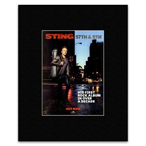 Sting - 57th & 9th Mini Poster - 40.5x30.5cm