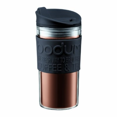 Bodum Screw top Travel Mug, 0.35 l, Black by Bodum