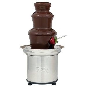 【並行輸入】The Sephra 16-Inch Stainless Steel 4-Pound Capactiy Select Home Fondue Fountain フォンデュファウンテン