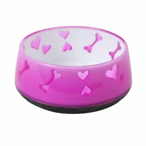 Dogit Home Non-Skid Pet Bowl, 10.1-Ounce, Pink by Dogit