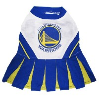 Golden State Warriors Dog Cheer Leading Medium