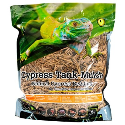 Galapagos (05054) Cypress Tank Mulch Forest Floor Bedding, 8-Quart, Natural by Super Moss