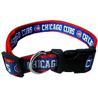 Chicago Cubs Dog Collar Small