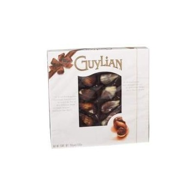 Guylian Chocolate Truffles Seashell Box 8.8 Oz (Pack Of 12) 並行輸入品 [海外直送]