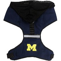 Michigan Wolverines Pet Harness SM