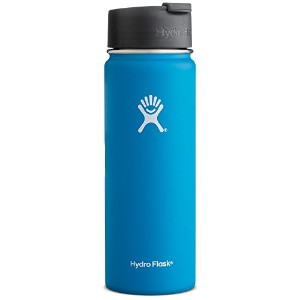Hydro Flask ハイドロフラスコ Stainless Steel Water Bottle Wide Mouth w/Flip Cap [並行輸入品] (Pacific, 20-Ounce...