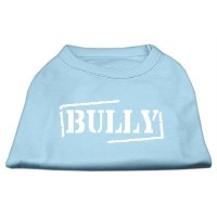 Mirage Pet Products 14-Inch Bully Screen Printed Shirts for Pets, Large, Baby Blue by Mirage Pet...