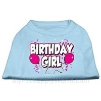 Mirage Pet Products 16-Inch Birthday Girl Screen Print Shirts, X-Large, Baby Blue by Mirage Pet...