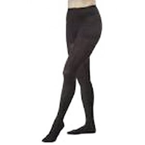 Women's Opaque 20-30 mmHg Firm Support Pantyhose Size: Medium, Color: Classic Black by Jobst