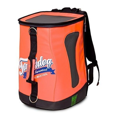 Touchdog Ultimate-Travel Airline Approved Triple Carrying Water Resistant Pet Carrier, Cantaloupe...