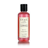 Khadi Rose & Geranium Massage Oil (Sooths Mind & Body)- without Mineral Oil - 210 ml