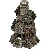 Blue Ribbon Cambodian Temple Ruins Aquarium Ornament [並行輸入品]