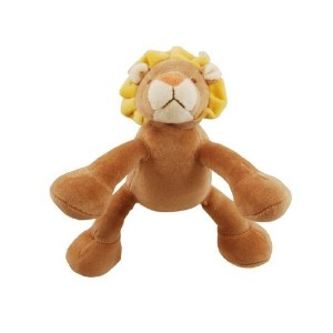 Simply Fido Leo 6-Inch Petite Brown Lion Squeaker Dog Toy [並行輸入品]