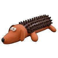 Amazing Pet Products Shaggy Latex Dog Squeek Toy, 6-Inch [並行輸入品]