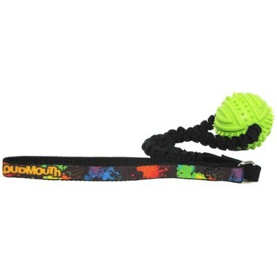 Hunter Loudmouth Golf Paint Balls Rubber Ball Bungee Toss Toy, One Size, Black [並行輸入品]