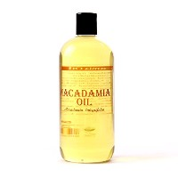 Mystic Moments | Macadamia Carrier Oil - 1 Litre - 100% Pure