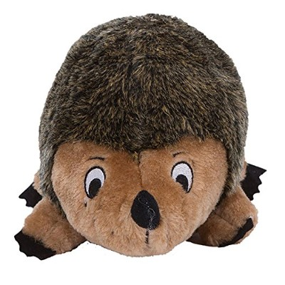 Outward Hound Kyjen Hedgehogz Dog Toys Plush Rattle Grunt and Squeak Toy [並行輸入品]