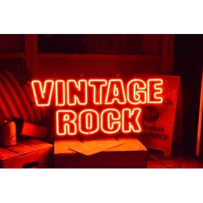 VINTAGE ROCK NEON SIGN/ヴィンテージロック ネオンサイン