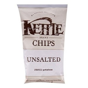 KETTLE(ケトル), ポテトチップス(5個セット) 塩なし (Unsalted 142 g x 5)[海外直送品]