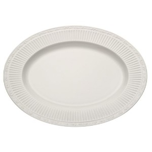 Mikasa Italian Countryside Oval Serving Platter, 15-Inch by Mikasa