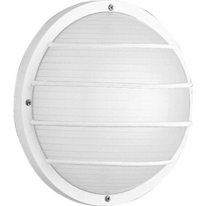 Progress Lighting P5703-30 Polycarbonate Light Mounted On Walls Or Ceilings Indoors or Outdoors...